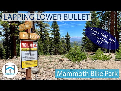 UNP25 - Lapping Lower Bullet - Adaptive MTB - Mammoth Bike Park