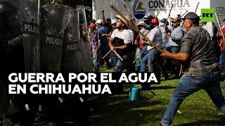 La deuda del agua enfrenta a AMLO contra el gobernador y los agricultores de Chihuahua