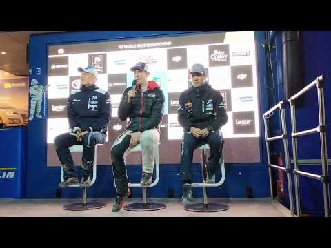 WRC - Dayinsure Wales Rally GB 2017: Press-Conference Friday