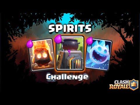 SPIRITS CHALLENGE! • Clash Royale #96