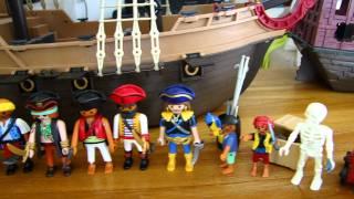 Playmobil pirates les vaisseaux et les pirates fantomes