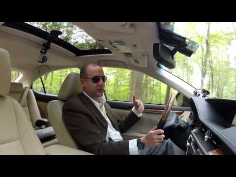 Driving Review - 2013 Lexus ES 300h - Hybrid Luxury - Test Drive - Video Review