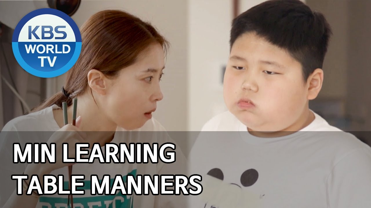 Min Learning Table Manners Stars Top Recipe At Fun Staurant Eng 2020 05 12 Youtube