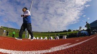 بالفيديو والصور.. عداءة هندية بسن 101 عام تفوز بذهبية الـ100 متر