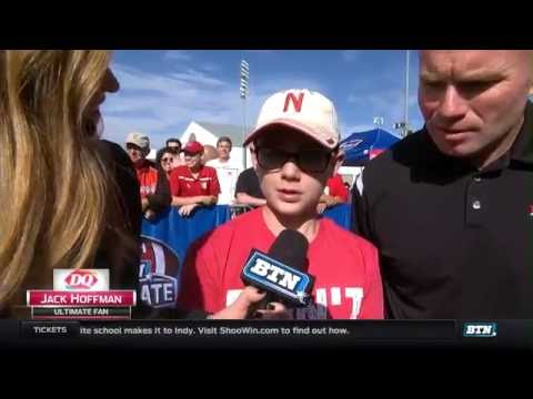 Jack Hoffman Interview - BTN Tailgate in Nebraska