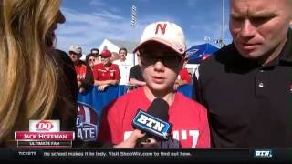 Jack Hoffman Interview - BTN Tailgate in Nebraska 10-1-16