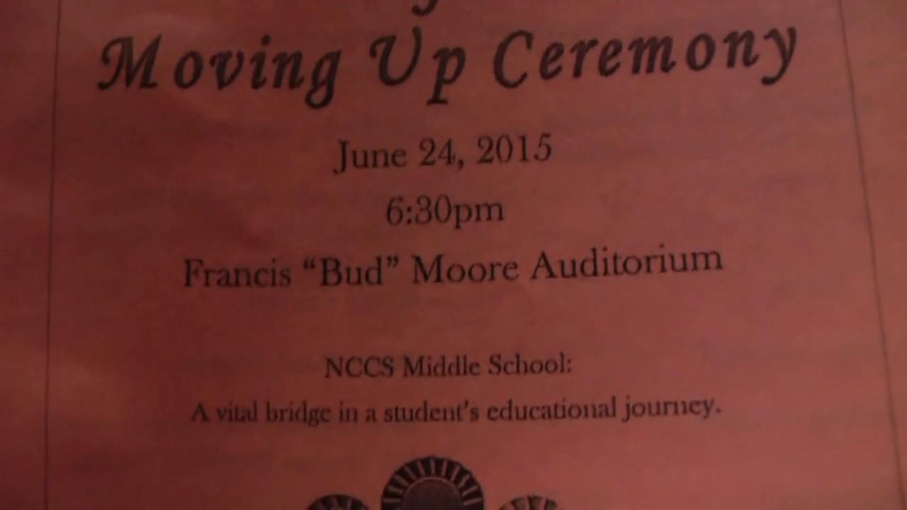 NCCS 8th Grade Moving Up   6 24 15