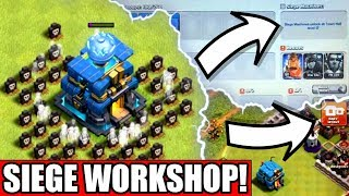 NEW SIEGE WORKSHOP LEAKED! - Clash Of Clans