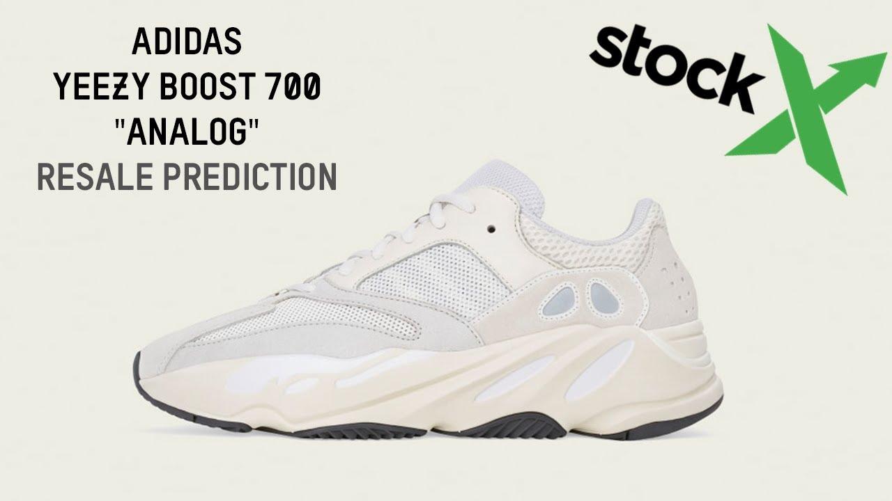 82e83130fefb3 Adidas Yeezy Boost 700 Analog Resale Prediction - YouTube