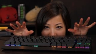 corsair gaming k65 rgb mechanical keyboard with cherry mx rgb red switches