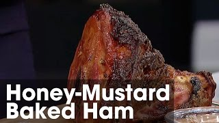 Stunning Honey-mustard Baked Ham: Steven & Chris