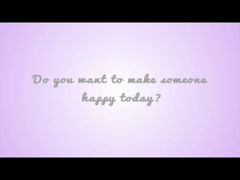 Ideas to Make Someone Happy Today - Random Acts of Kindness
