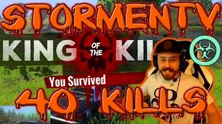 40 KILL MATCH STORMENTV + JERKCHICKENH1 | H1Z1 KOTK | DUAL SCREEN GAMEPLAY