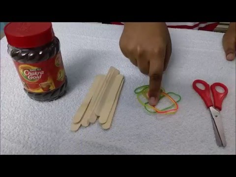 Science Project - How to make a Rubber Band Powered Boat