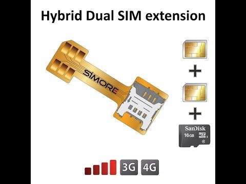 How to have 2 SIM cards with micro SD at the same time into hybrid Dual SIM slot Galaxy S7 Duos