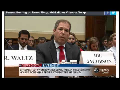 breaking news house hearing bowe bergdahl taliban prisoner swap