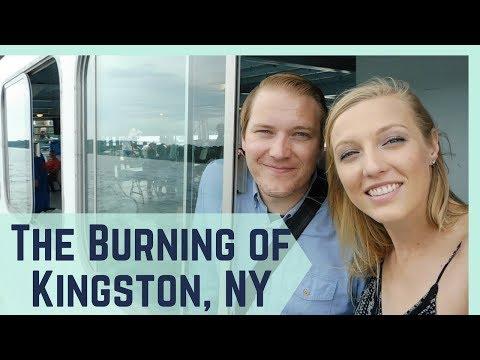 THE BURNING OF KINGSTON (NY'S ORIGINAL CAPITOL) || FULL TIME RV LIVING