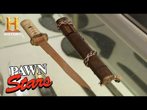 Pawn Stars: A Rare Samurai Sword Holds A Valuable Secret (Season 16) | History