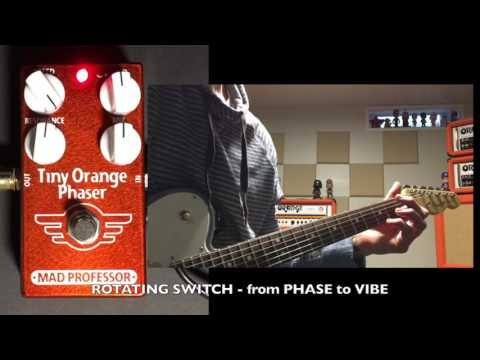 e2bbc6a787b Mad Professor Tiny Orange Phaser Demo