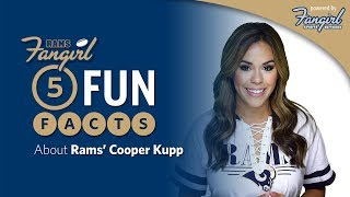 5 Fun Facts About Rams' Cooper Kupp | Rams Fangirl