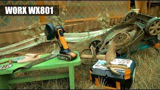 Угловая шлифмашина (болгарка) WORX WX801
