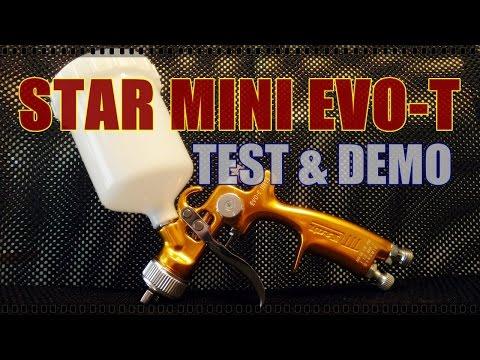 Pistolet Star EVO-T Mini SLV 1.0 - Test i opinia