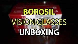 Borosil Vision Glasses Unboxing