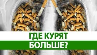 Самые КУРЯЩИЕ СТРАНЫ мира. Где курение и никотиновая зависимость убивают людей?