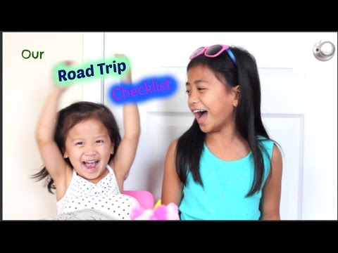 Our Road Trip 2015 Survival Checklist  Kids Approved