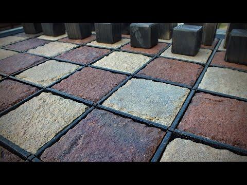 Garden Chess. Уличные шахматы.