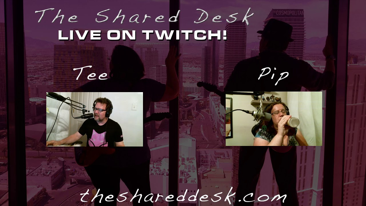 The Shared Desk   Two Writers, One Podcast, and Various Points-of-View
