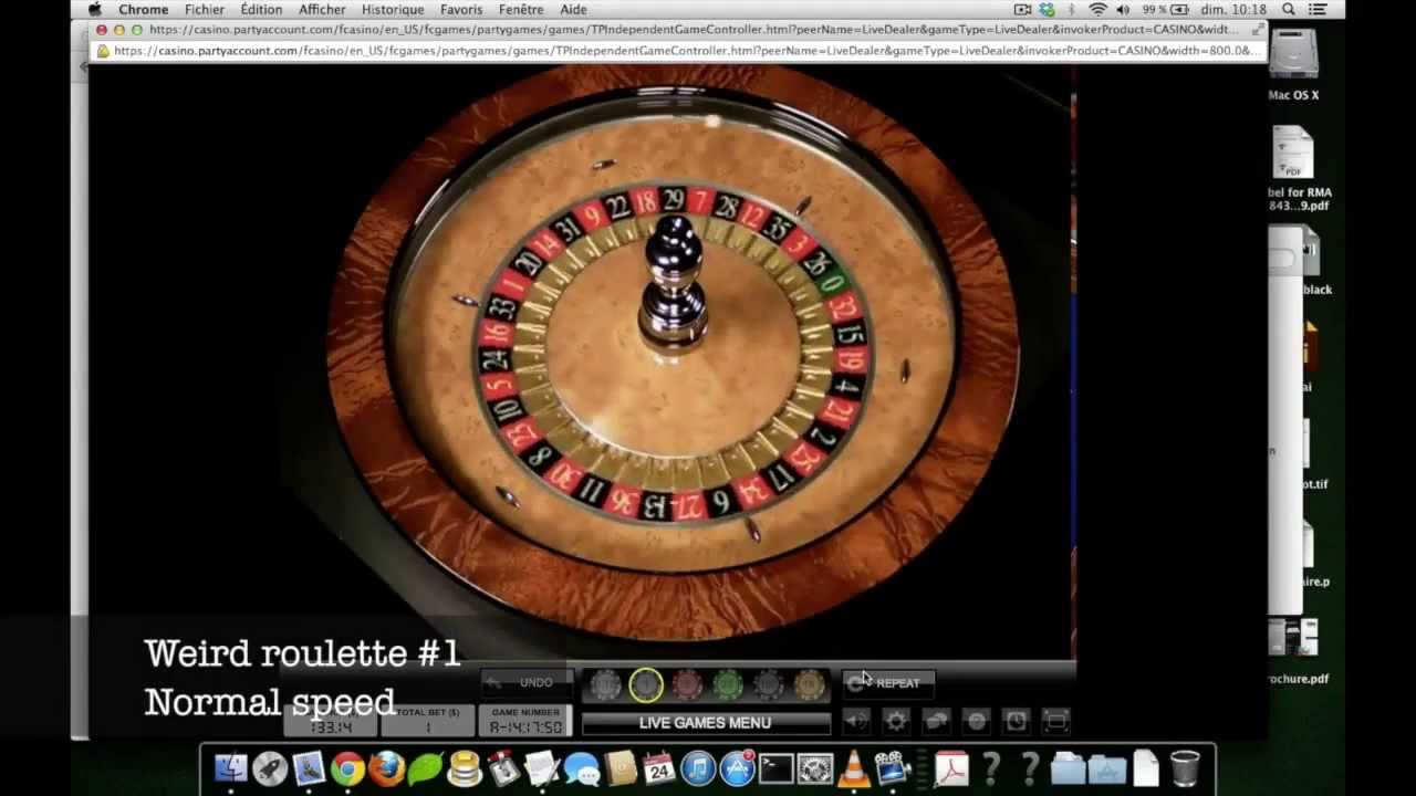 is casino roulette rigged