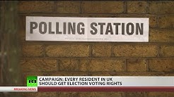 Should every UK resident get election voting rights? (Debate)