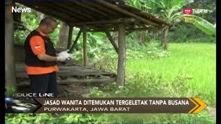 Download Video Jenazah Wanita 25 Tahun Tanpa Busana Ditemukan di Gubuk Sawah Purwakarta - Police Line 11/03 MP3 3GP MP4