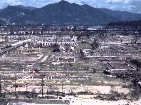 File photos of the atomic bombing of Hiroshima