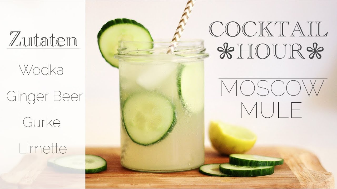 Cocktail Rezept Moscow Mule Youtube