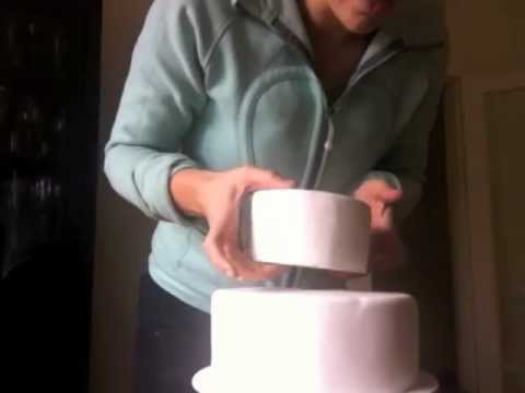 how to make a 5 layer wedding cake how to stack a cake 15789