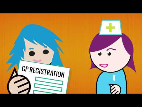 Registering with a GP