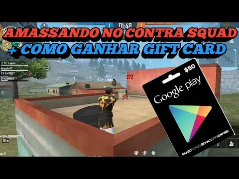 AMASANDO NO MODO CONTRA SQUAD, + COMO GANHAR GIFT CARD from YouTube · Duration:  9 minutes 34 seconds