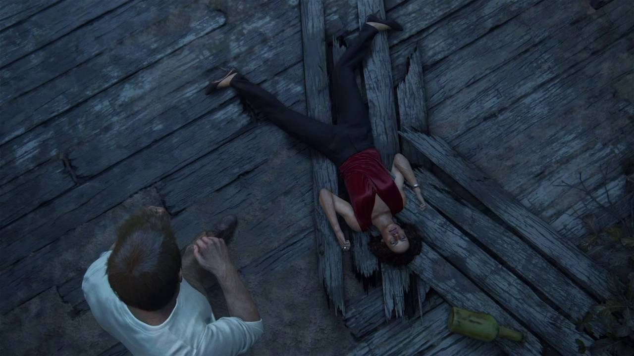 Nadine Ross Death Glitch Uncharted 4 Youtube