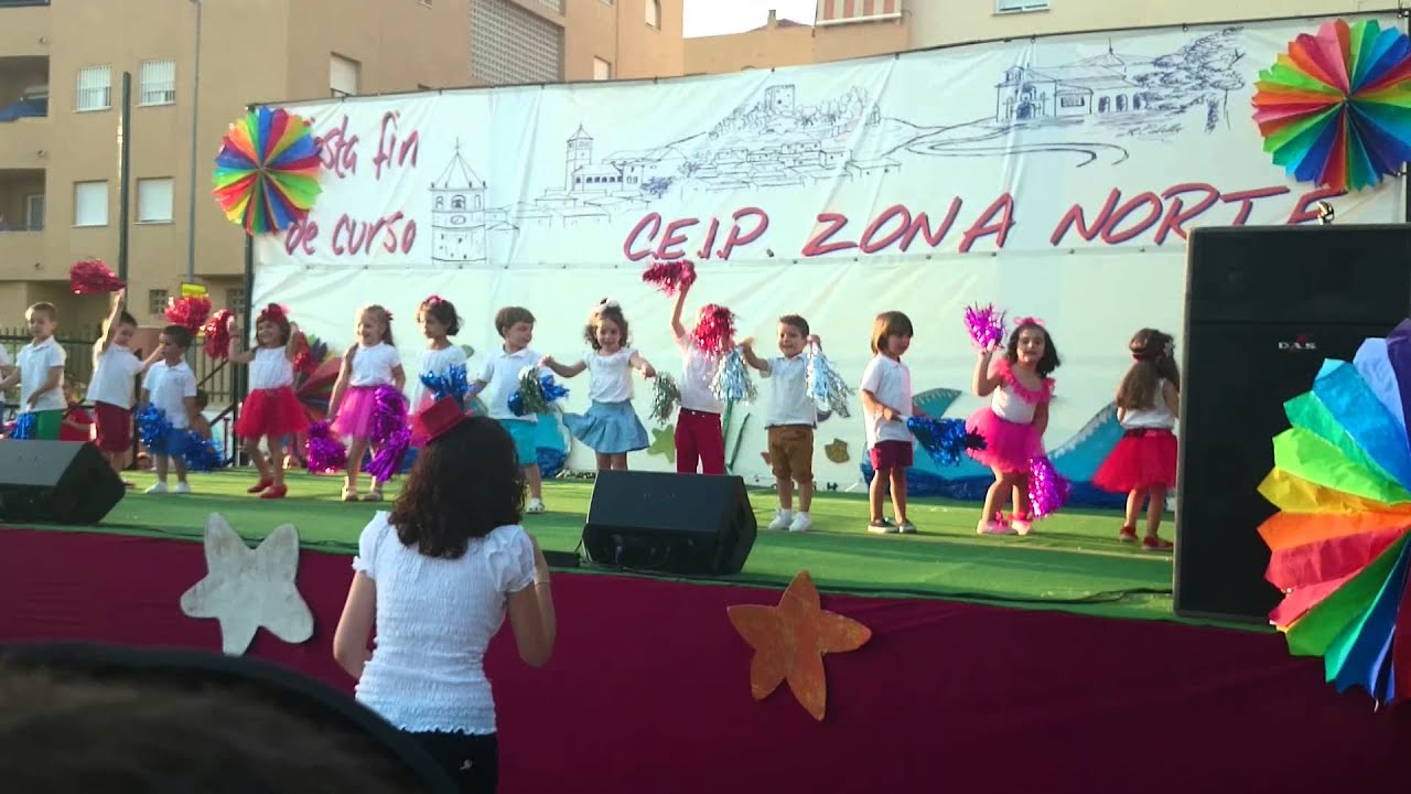 Baile fin de curso infantil 3 a os a youtube - Baules infantiles ...
