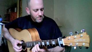 "Adam Rafferty - ""I Want You Back"" - Jackson 5 - Solo Fingerstyle Acoustic Guitar"