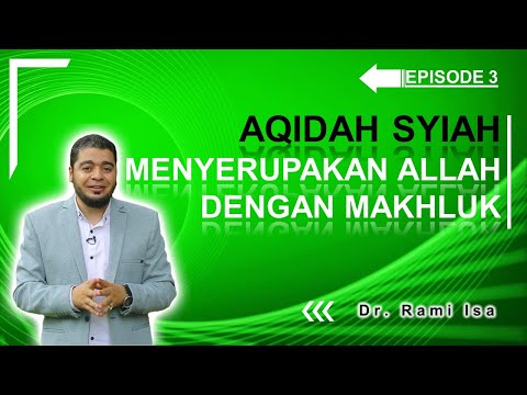 Kekufuran Syiah Menyerupakan Allah dengan Ahlul Bait [Video]