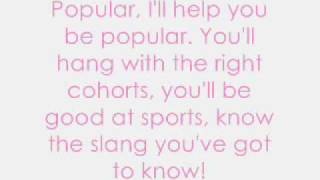Wicked   Popular (with Lyrics)