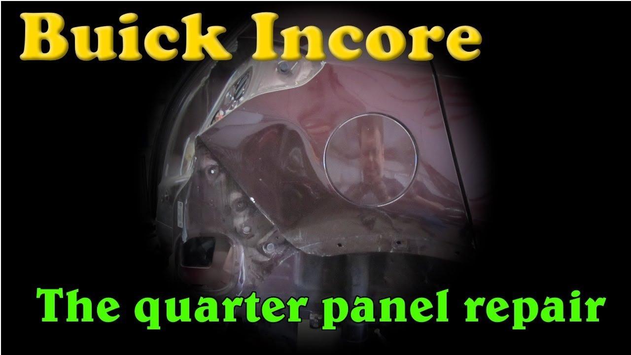 Buick. The quarter panel repair. Ремонт заднего крыла.