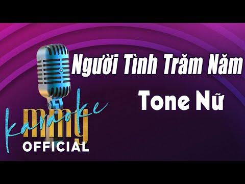 Người Tình Trăm Năm (Karaoke Tone Nữ) | Hát với MMG Band