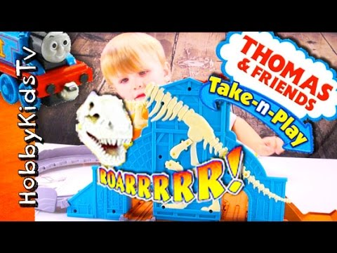 Roaring DINOSAUR TRAIN Run Review with HobbyBear