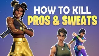 HOW TO GET BETTER & BE AGGRESSIVE VS PROS! | 7 TIPS, 90s & MORE! - (Fortnite Battle Royale)