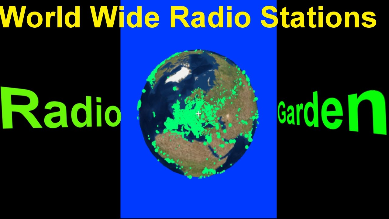 RADIO GARDEN LIVE : ALL RADIO STATION IN THE WORLD - YouTube
