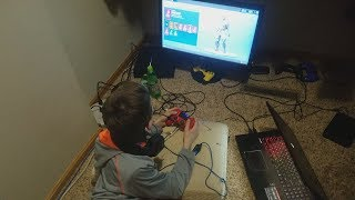 """My Son's Reaction To Me Buying Him The """"Starter Pack"""" In Fortnite Battle Royale (""""Starter Pack"""")"""